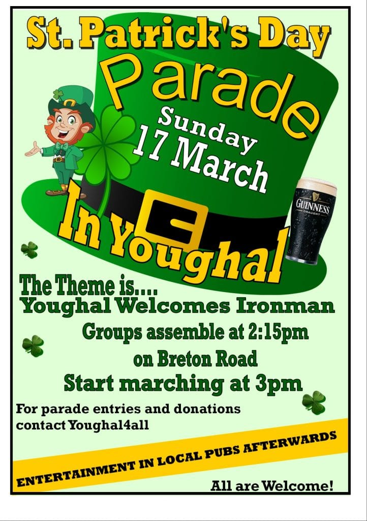 2019 Youghal St Patrick's Day Parade - Ring of Cork